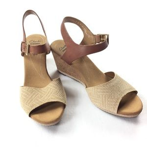 Clarks Collectibles | Soft Cushion Woven Wedge